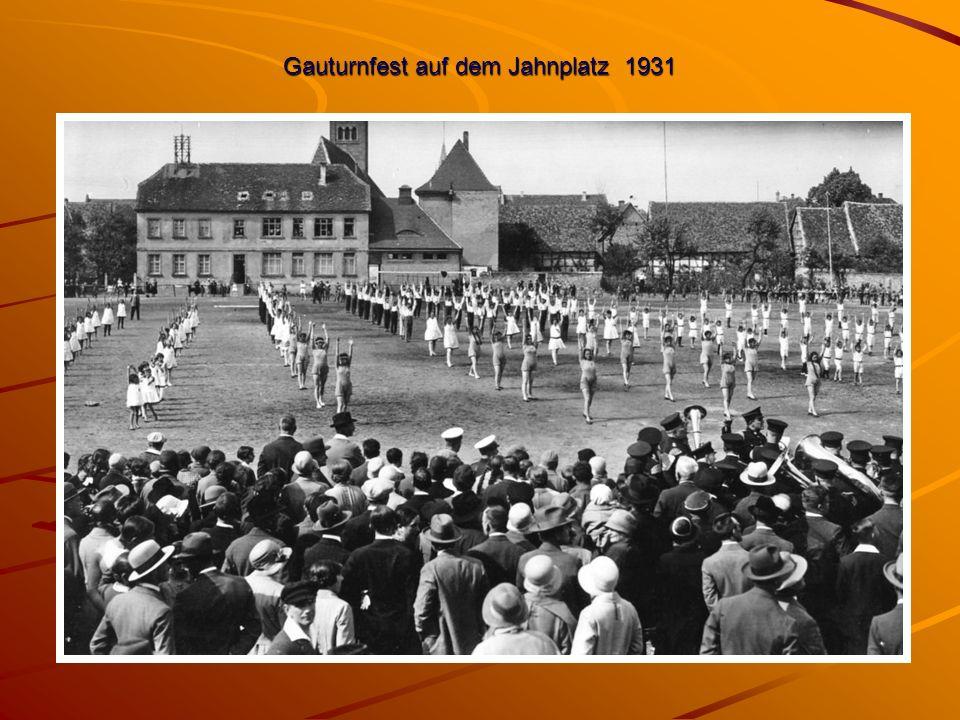 Gauturnfest auf dem Jahnplatz 1931