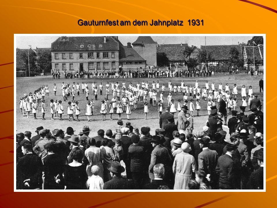 Gauturnfest am dem Jahnplatz 1931