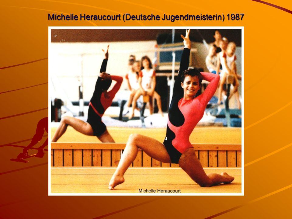 Michelle Heraucourt (Deutsche Jugendmeisterin) 1987