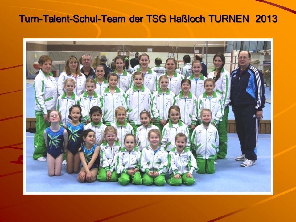 Turn-Talent-Schul-Team der TSG Haßloch TURNEN 2013