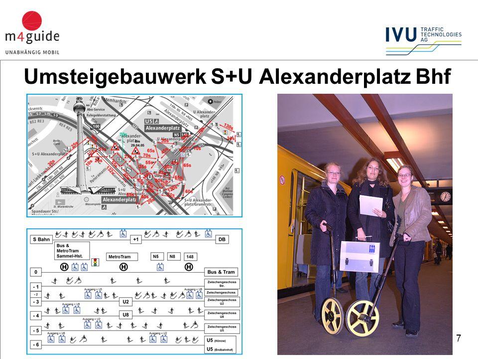 7 Umsteigebauwerk S+U Alexanderplatz Bhf
