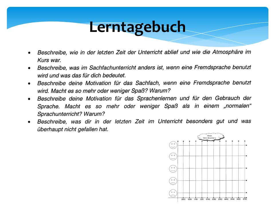Lerntagebuch