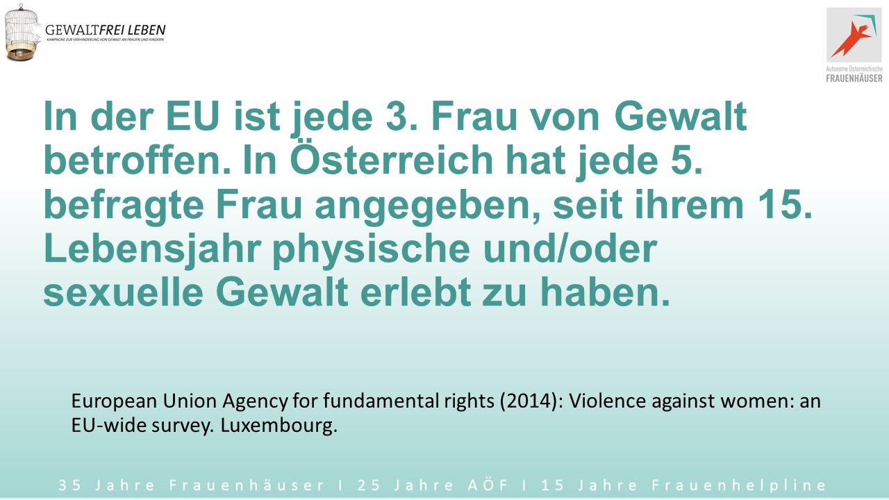 GewaltFREI leben Maria Rösslhumer, Geschäftsführerin Verein AÖF und Frauenhelpline gegen Gewalt Verein WAVE (Women Against Violence Europe)