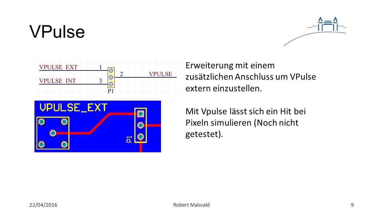 VPulse Erweiterung mit einem zusätzlichen Anschluss um VPulse extern einzustellen.