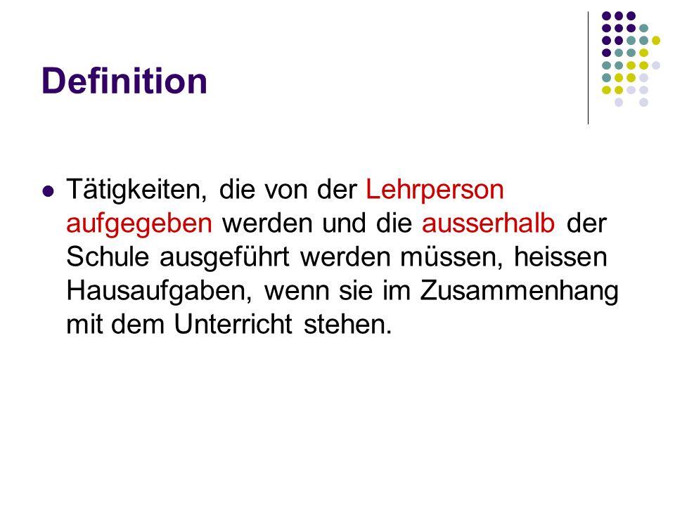 Gesetz (Verordnung zum Gesetz über die Volksschulbildung des Kantons Luzern, 1.