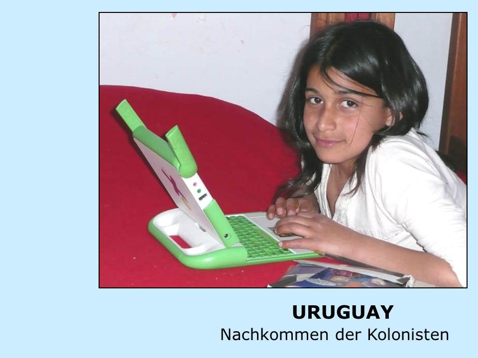 URUGUAY Nachkommen der Kolonisten