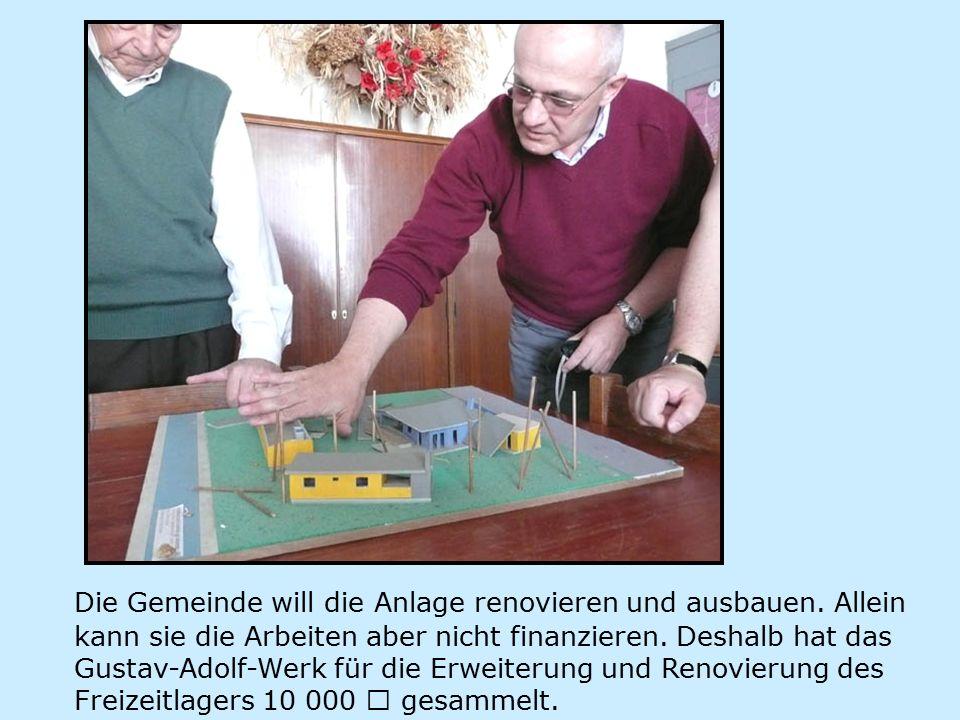 Die Gemeinde will die Anlage renovieren und ausbauen.
