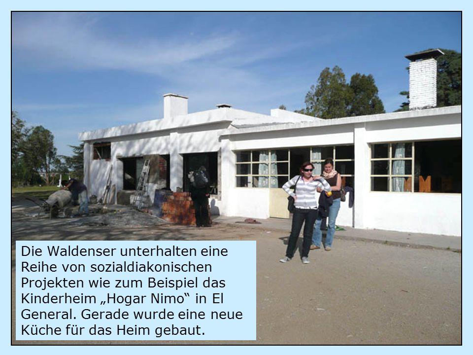 """Die Waldenser unterhalten eine Reihe von sozialdiakonischen Projekten wie zum Beispiel das Kinderheim """"Hogar Nimo in El General."""
