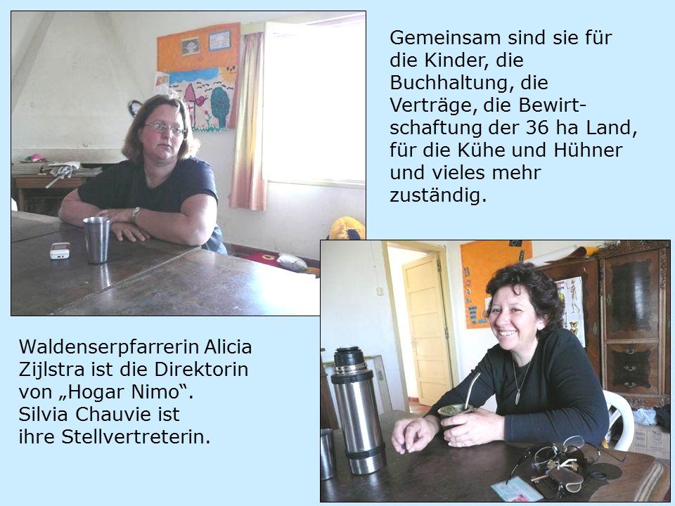 """Waldenserpfarrerin Alicia Zijlstra ist die Direktorin von """"Hogar Nimo ."""