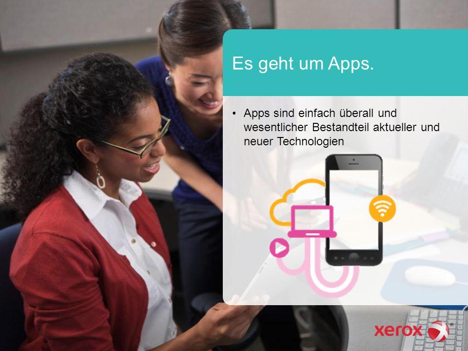 Es geht um Apps. Apps sind einfach überall und wesentlicher Bestandteil aktueller und neuer Technologien
