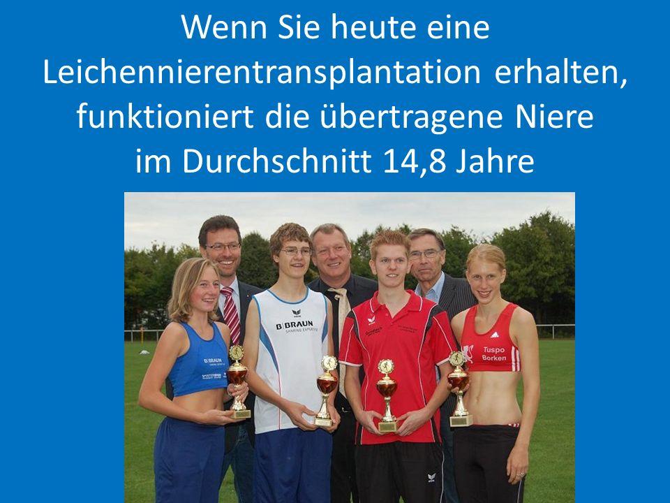 Transplantationen Deutschland www.dso.de