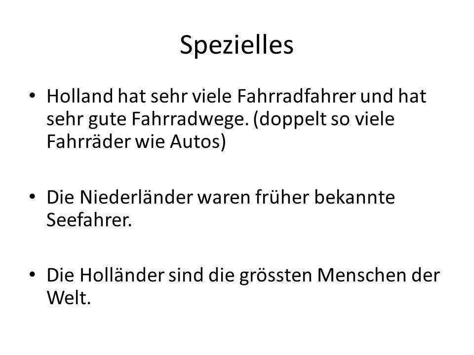 Spezielles Holland hat sehr viele Fahrradfahrer und hat sehr gute Fahrradwege.