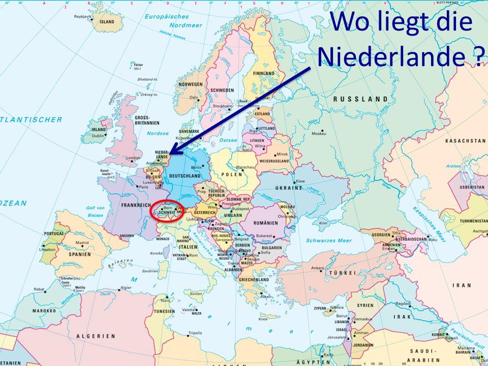 Wo liegt die Niederlande