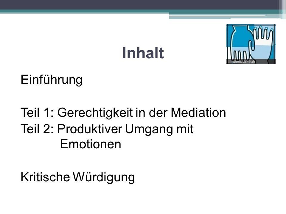 Die fünf Mythen der Mediation 1.Das Postulat der Neutralität > Allparteilichkeit 2.