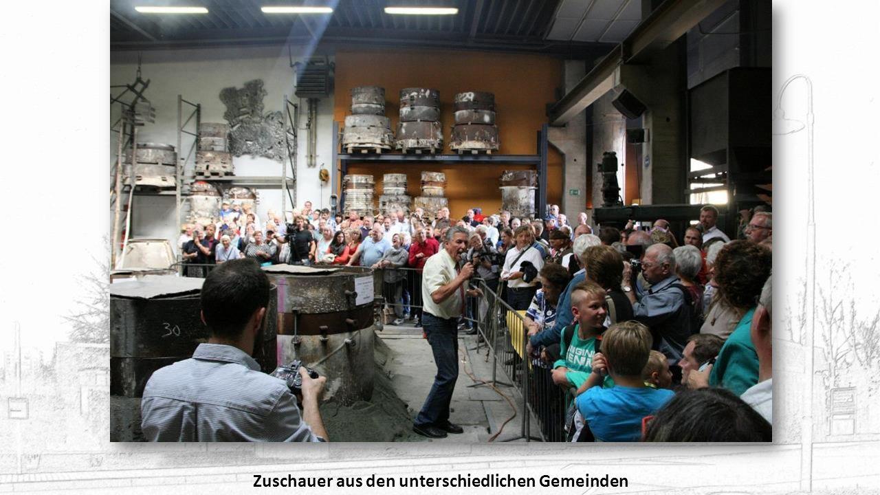 Es wurden Glocken für Rumänien, Deutschland, Österreich, Eriträa und die Philippinen gegossen