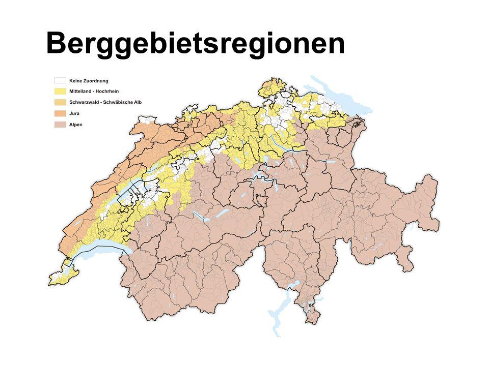 Berggebietsregionen