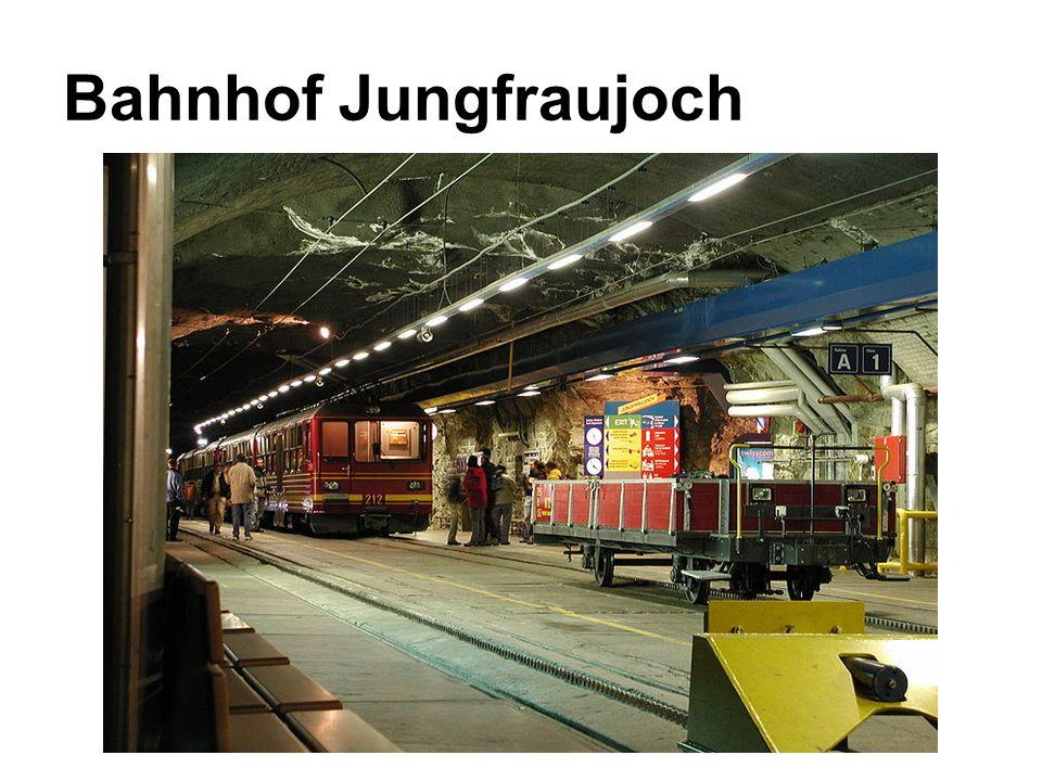 Bahnhof Jungfraujoch