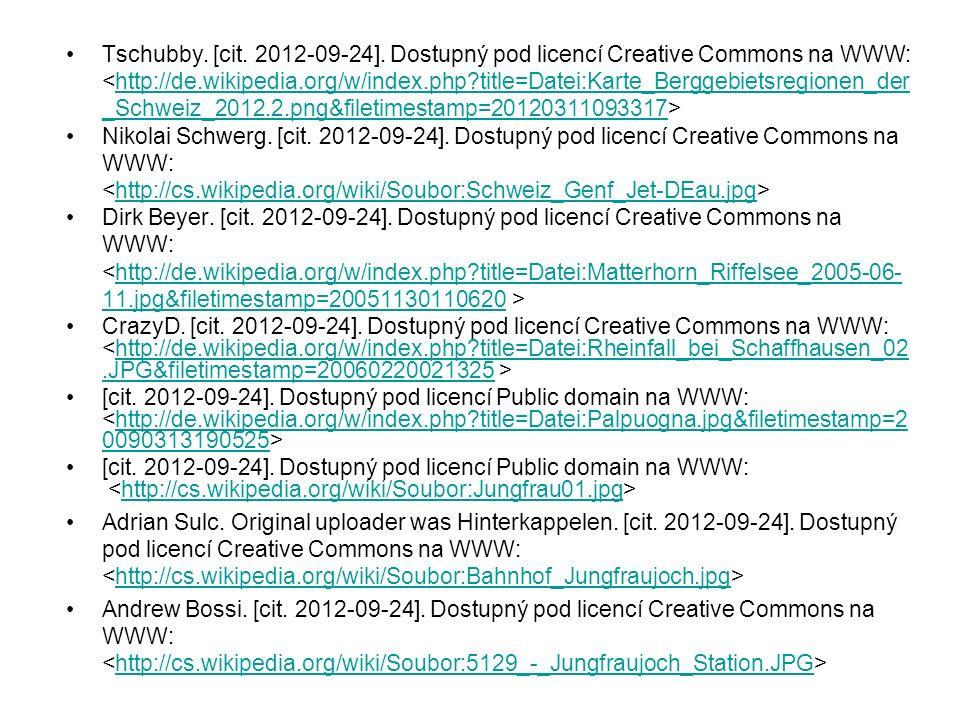 Tschubby. [cit. 2012-09-24]. Dostupný pod licencí Creative Commons na WWW: http://de.wikipedia.org/w/index.php?title=Datei:Karte_Berggebietsregionen_d