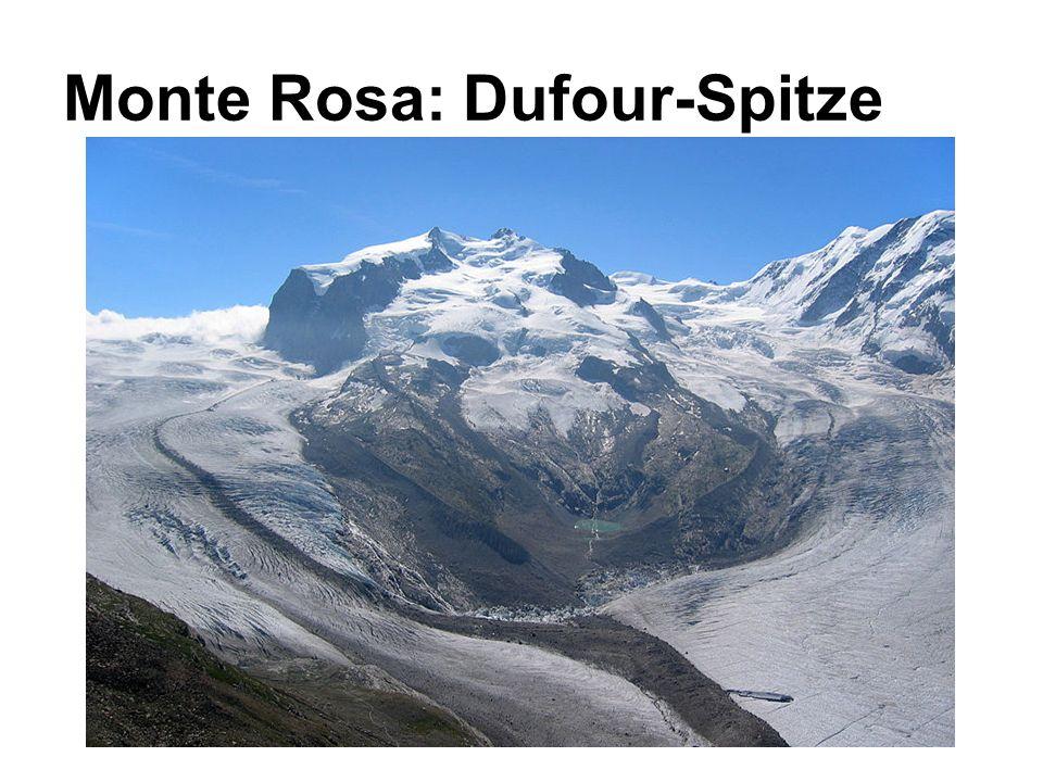 Monte Rosa: Dufour-Spitze