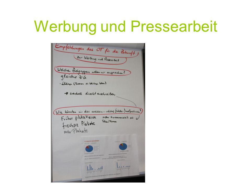 Werbung und Pressearbeit