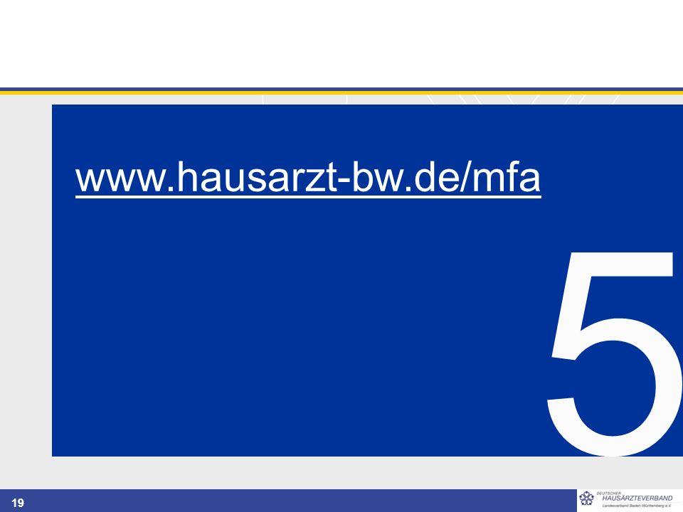 19 5 www.hausarzt-bw.de/mfa