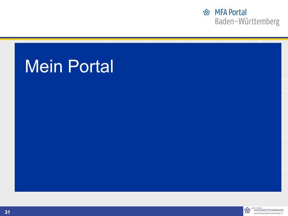 31 Mein Portal