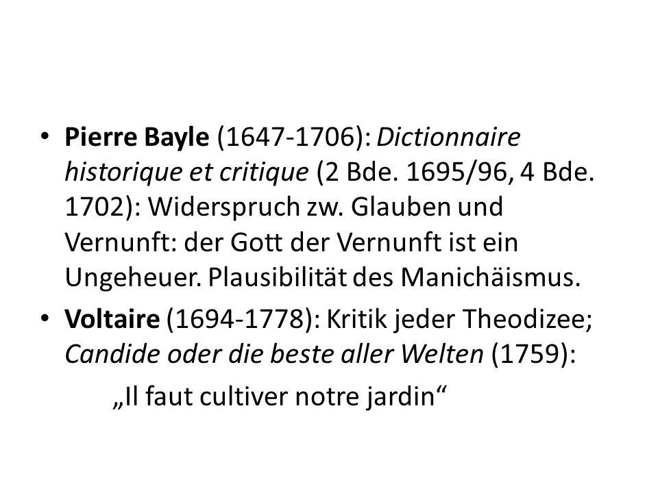 Ad 3) Die Vernunft als Werkzeug des Skeptikers.Kritik der leichtfertig gebrauchten Vernunft.
