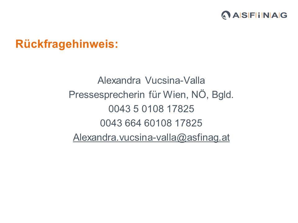 Alexandra Vucsina-Valla Pressesprecherin für Wien, NÖ, Bgld.