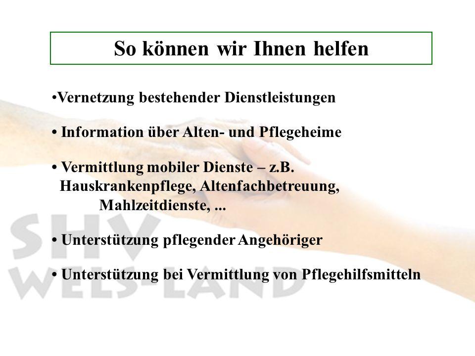 Sozialberatungsstelle Thalheim b.Wels Thalheim bei Wels Bezirks-Alten- und Pflegeheim Ascheterstr.