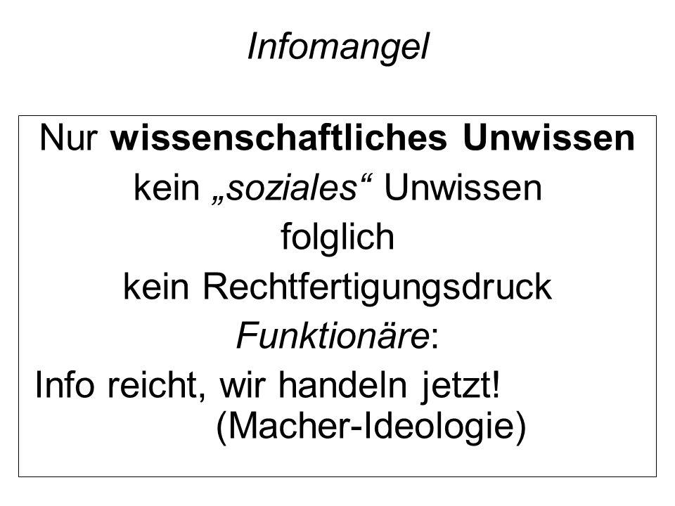 """""""Tod machen Scheu vor dem """"Tod machen Ambivalenz (Vermeiden + Machen): Sachzwang, Apparate, Wissenschaftsmäntelchen"""