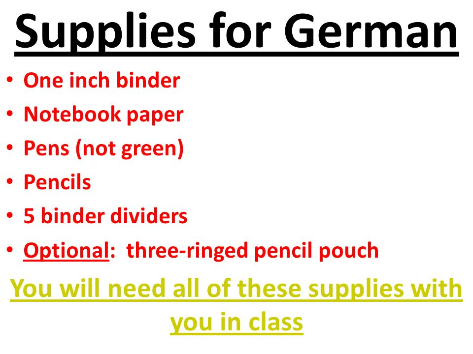 German Club 1.Meets once a month 2.Activities a.Crafts b.Sports c.Food d.Games e.Other.