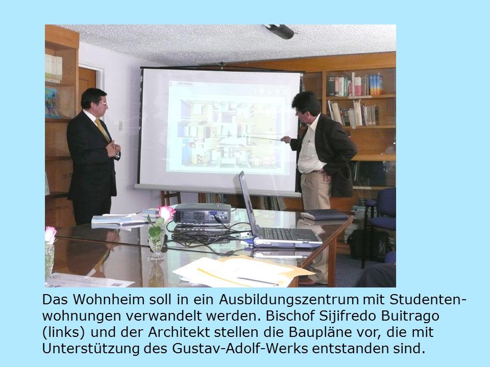 Das Wohnheim soll in ein Ausbildungszentrum mit Studenten- wohnungen verwandelt werden.
