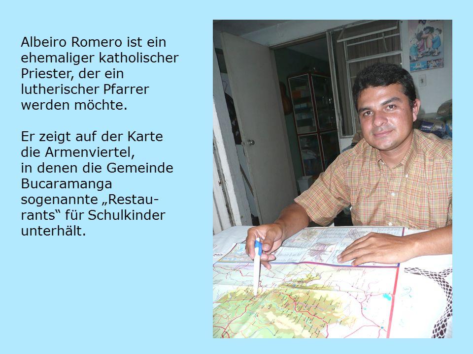 Albeiro Romero ist ein ehemaliger katholischer Priester, der ein lutherischer Pfarrer werden möchte.