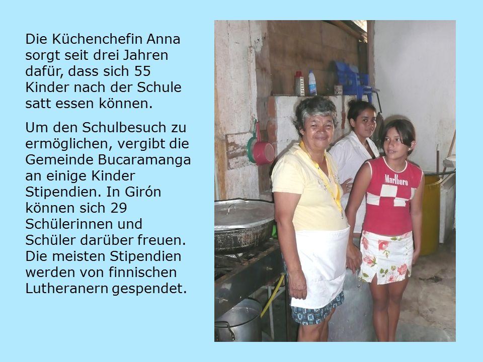 Die Küchenchefin Anna sorgt seit drei Jahren dafür, dass sich 55 Kinder nach der Schule satt essen können.