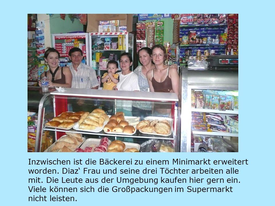 Inzwischen ist die Bäckerei zu einem Minimarkt erweitert worden.