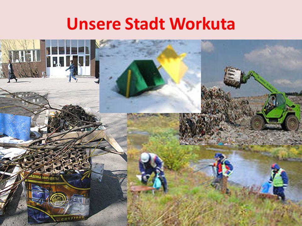 Also, was sollen die Kinder jetzt machen? Losungen und Plakate …. Arbeitsg…. organisieren. Sie sollen an ökologischen P… …. den Bürger… …. Welche Losu