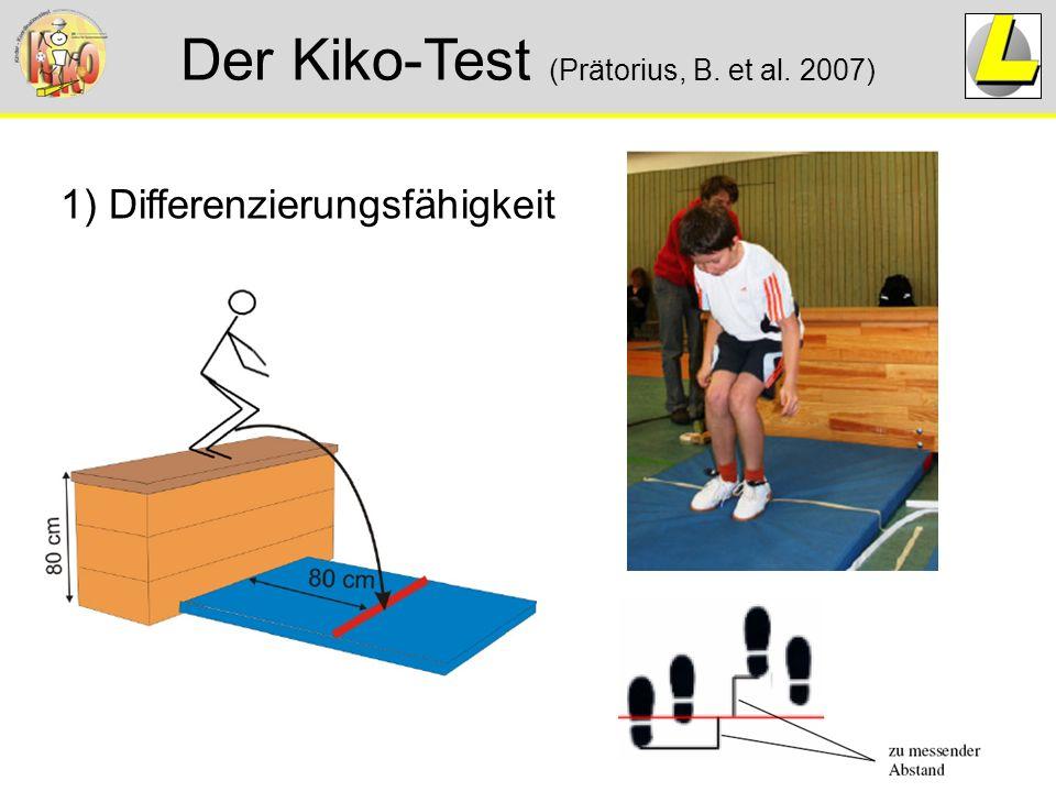Der Kiko-Test (Prätorius, B. et al. 2007) 1) Differenzierungsfähigkeit