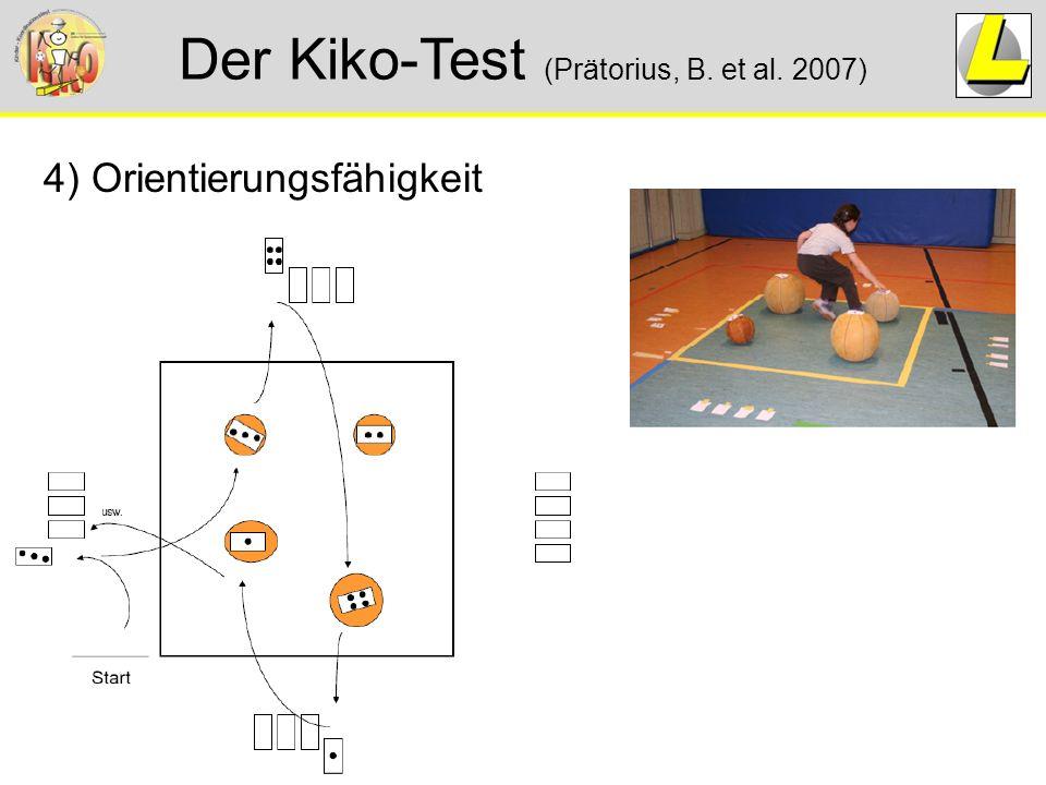 Der Kiko-Test (Prätorius, B. et al. 2007) 4) Orientierungsfähigkeit
