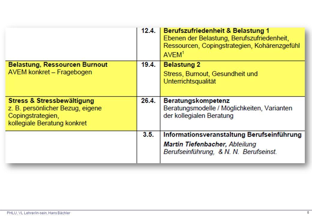 PHLU, VL Lehrer/in-sein, Hans Bächler 6