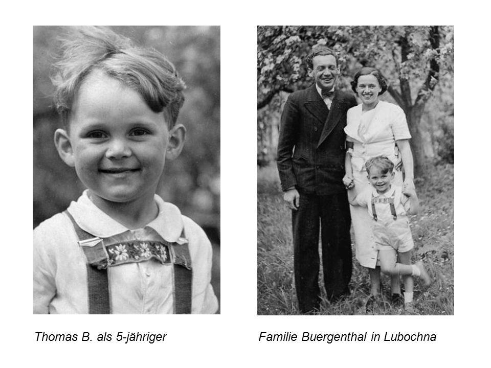 Thomas B. als 5-jährigerFamilie Buergenthal in Lubochna