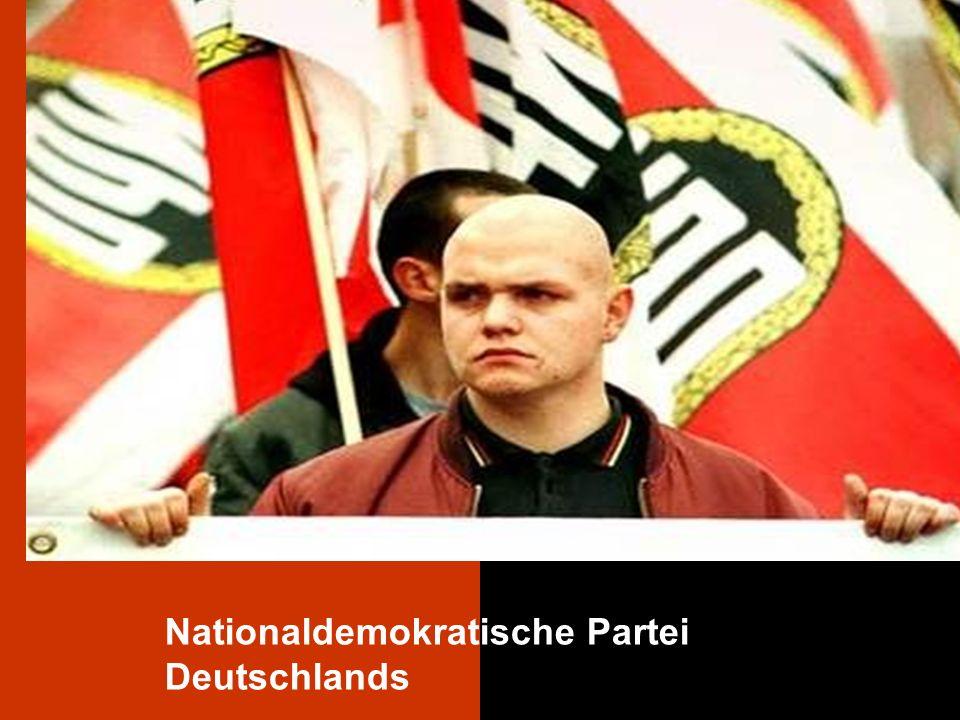 Text durch Klicken hinzufügen NPD Nationaldemokratische Partei Deutschlands