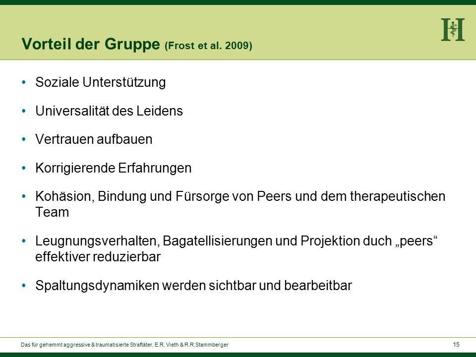15 Vorteil der Gruppe (Frost et al.