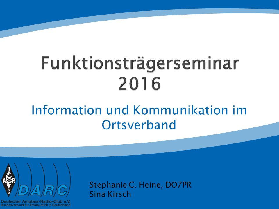 Deutschland-Rundspruch Beiträge mit bundesweiter Bedeutung bitte bis Mittwoch per E-Mail an Redaktion@darc.de