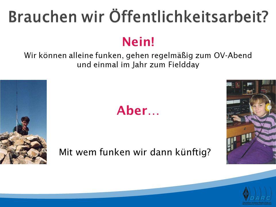 Anzahl der Mitglieder37.056 Gesamt 2.651 Frauen 34.373 Männer Anzahl Jugendlicher1.181 (bis 25 Jahre) In Deutschland sind insgesamt über 74.519 Funkamateure registriert.