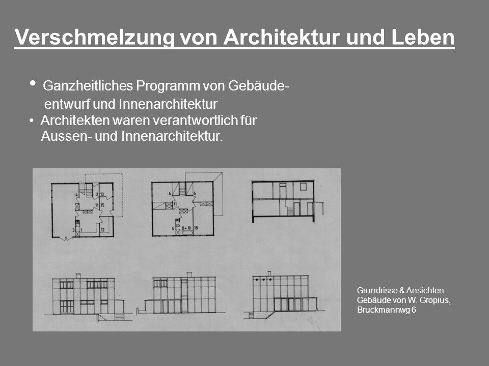 Verschmelzung von Architektur und Leben Ganzheitliches Programm von Gebäude- entwurf und Innenarchitektur Architekten waren verantwortlich für Aussen-