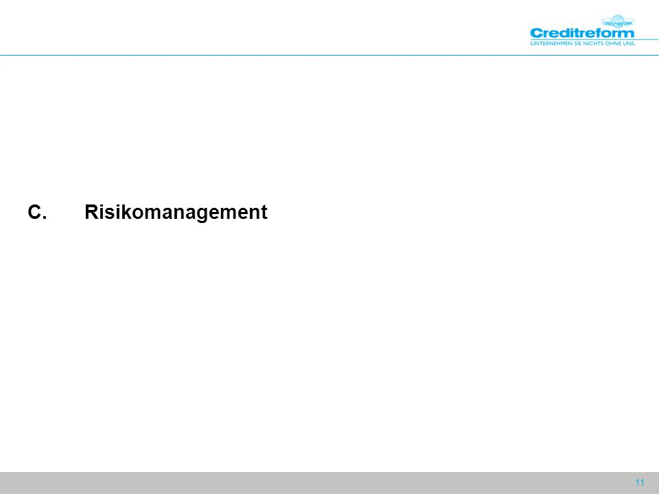 11 C.Risikomanagement