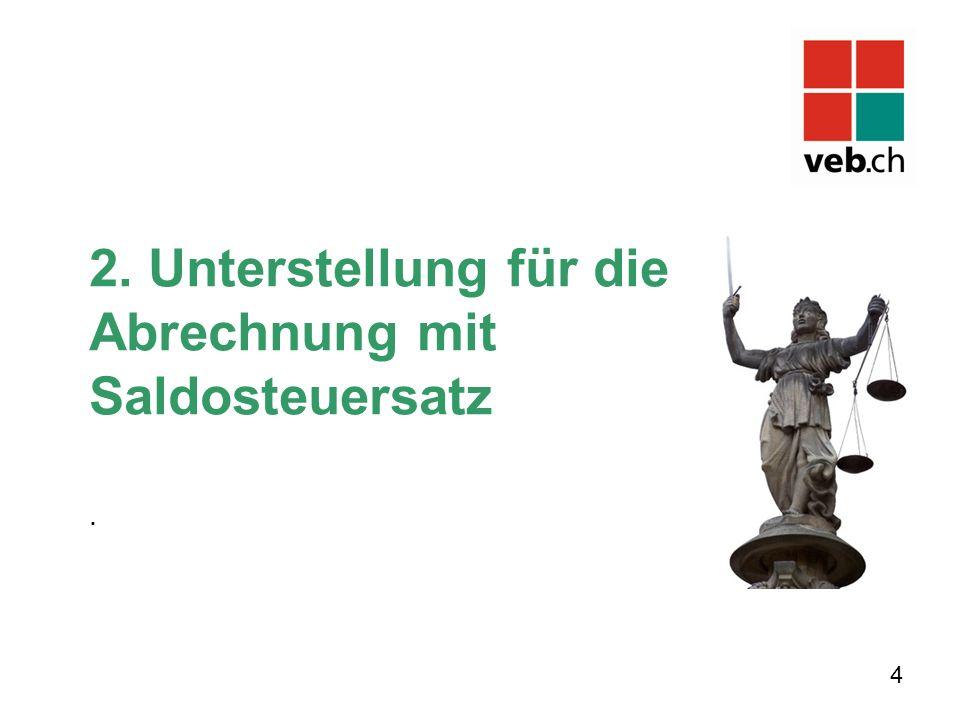 Beginn der Unterstellung Neue steuerpflichtige Personen (Art.