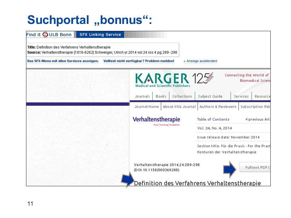 "11 Suchportal ""bonnus :"