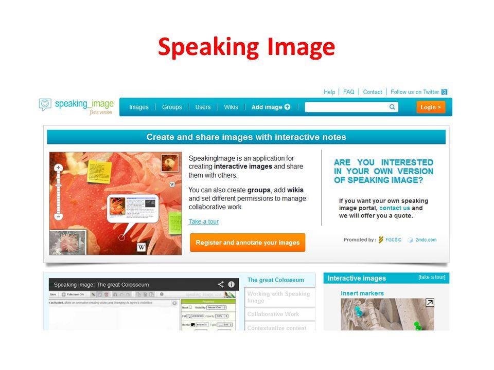 Speaking Image