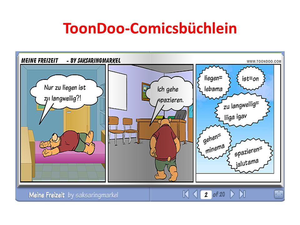 ToonDoo-Comicsbüchlein